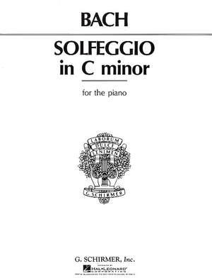 Carl Philipp Emanuel Bach: Solfeggietto in C Minor