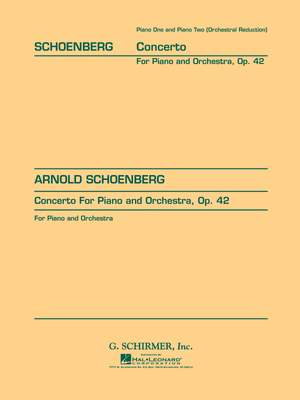 Arnold Schönberg: Concerto, Op. 42