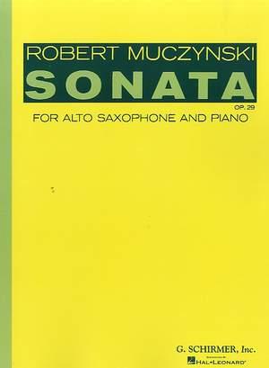 Robert Muczynski: Sonata, Op. 29