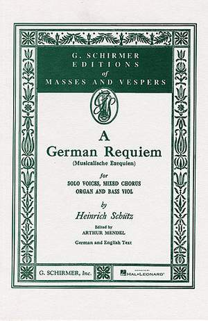 Heinrich Schütz: German Requiem