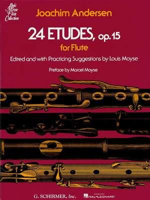 Joachim Andersen: 24 Etudes, Op. 15