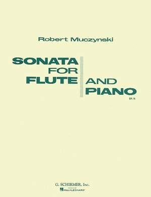 Robert Muczynski: Sonata, Op. 14