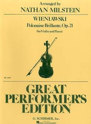 Henryk Wieniawski: Polonaise Brillante, Op. 21, No. 2