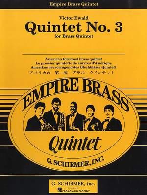 Victor Ewald: Quintet No. 3