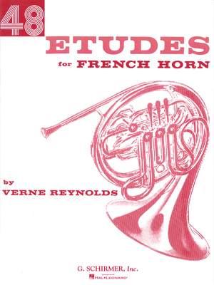 Verne Reynolds: 48 Etudes for French Horn