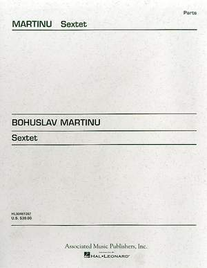 Bohuslav Martinu: Sextet