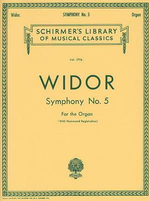 Charles-Marie Widor: Symphony No. 5