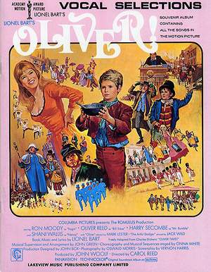 Lionel Bart: Oliver! - Vocal Selections From The Motion Picture