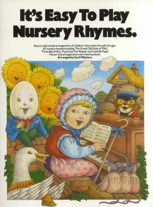 It's Easy To Play Nursery Rhymes