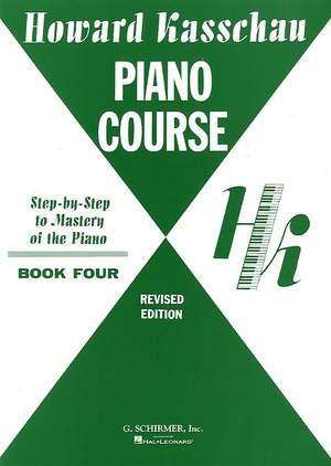 Howard Kasschau: Piano Course - Book 4 Product Image