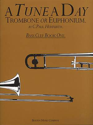 Paul Herfurth: A Tune A Day For Trombone Or Euphonium (BC) 1