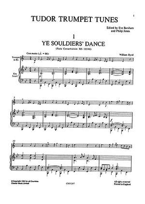 Eve Barsham: Just Brass Trumpet Solos 1 - The Tudor Age