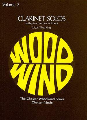 T. King: Clarinet Solos 2
