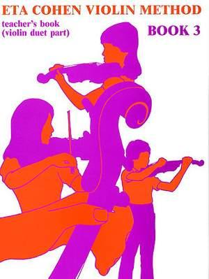 Violin Method Book 3 - Teacher's Book