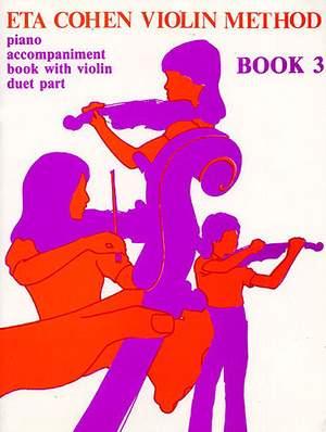 Violin Method Book 3 - Piano Accompaniment