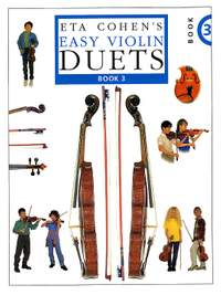Eta Cohen's Easy Violin Duets Book 3