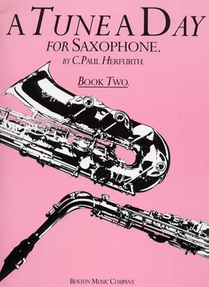 Paul Herfurth: A Tune A Day For Saxophone Book Two