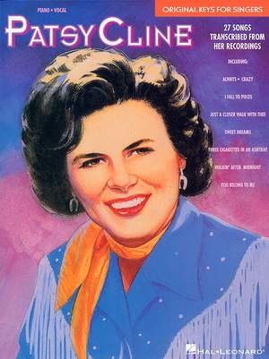 Patsy Cline: Original Keys For Singers Product Image