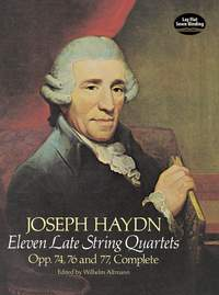 Franz Joseph Haydn: Eleven Late String Quartets