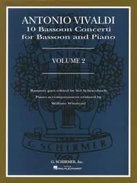Antonio Vivaldi: 10 Bassoon Concerti Volume 2