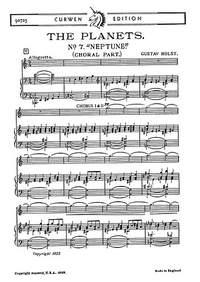 Gustav Holst: Neptune From The Planets Chorus