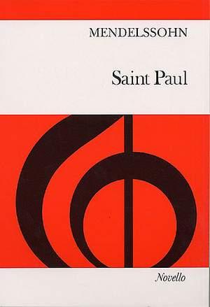 Felix Mendelssohn Bartholdy: Saint Paul