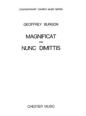 Geoffrey Burgon: Magnificat And Nunc Dimittis