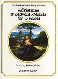 Chester Book Of Motets Vol. 12