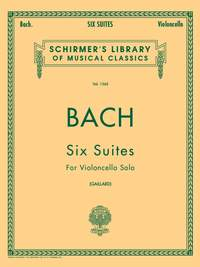 Johann Sebastian Bach: Six Suites For Cello Solo