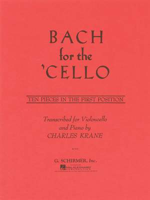 Johann Sebastian Bach: J.S. Bach For The Cello