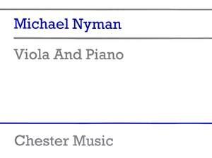 Michael Nyman: Viola And Piano