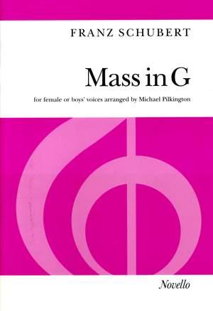 Franz Schubert: Mass In G Female Or Boys' Voices