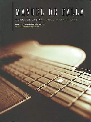 Manuel de Falla: Music For Guitar