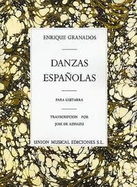 Enrique Granados: Danzas Espanolas Complete For Guitar