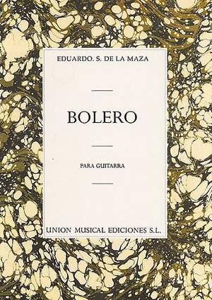 Eduardo Sainz de la Maza: Bolero