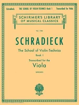 Henry Schradieck: School of Violin Technics, Op. 1 - Book 1