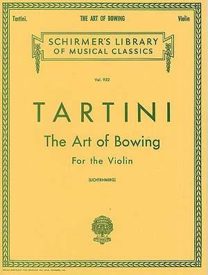 Giuseppe Tartini: The Art of Bowing