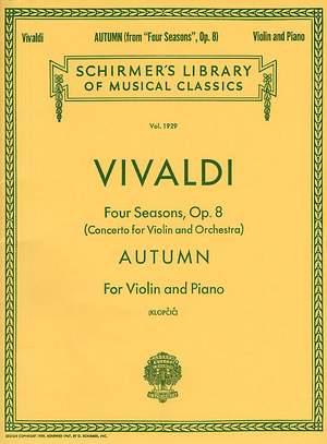 Antonio Vivaldi: Autumn From 'Four Seasons' Op.8