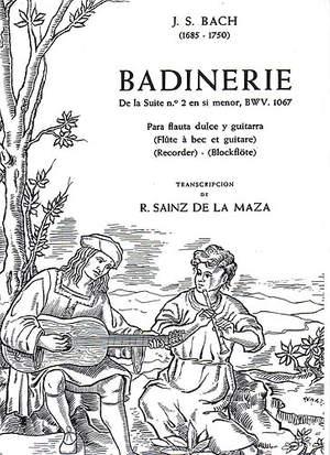 Johann Sebastian Bach: Badinerie De La Suite No. 12 In B Minor BWV 1067