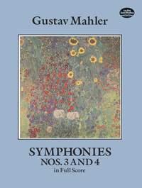 Mahler, G: Symphonies Nos.3 And 4