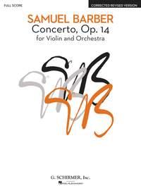 Samuel Barber: Concerto For Violin And Orchestra Op.14