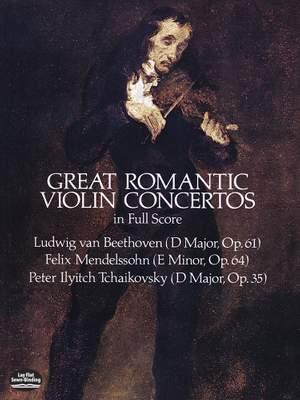Ludwig van Beethoven: Great Romantic Violin Concertos