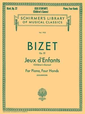 Georges Bizet: Jeux D'Enfants Op.22