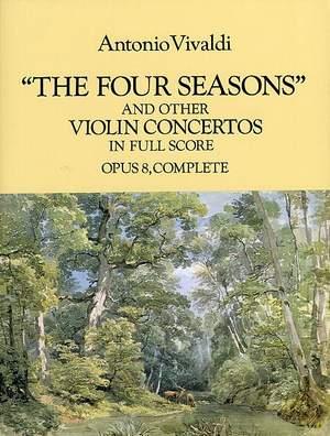 Antonio Vivaldi: Four Seasons And Other Violin Concertos