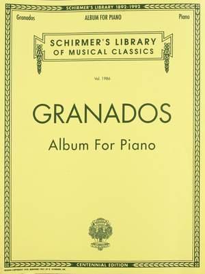 Enrique Granados: Album for Piano