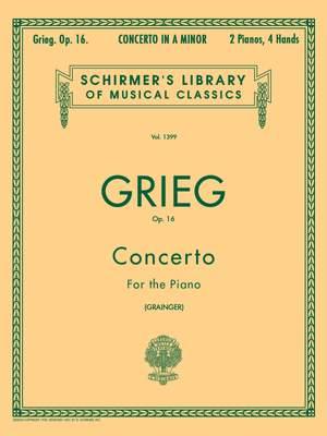Edvard Grieg: Piano Concerto In A Minor Op.16