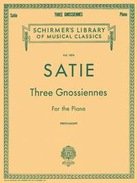 Erik Satie: Three Gnossiennes For The Piano