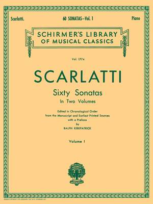Domenico Scarlatti: Sixty Sonatas - Volume One
