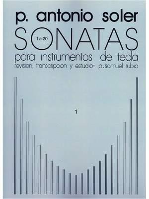 Antonio Soler: Sonatas Volume One Product Image