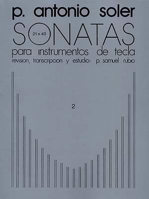 Antonio Soler: Sonatas Volume Two
